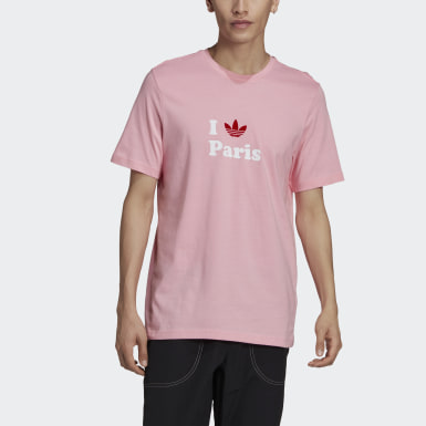 Originals Paris Trefoil T-Shirt Rosa
