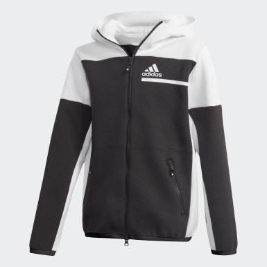 Veste à capuche Z.N.E. Full-Zip Noir Garçons Athletics