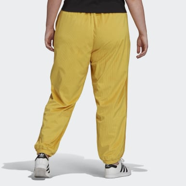 Cuffed Pants Żółty
