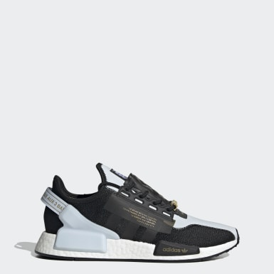 Men's Originals Blue Star Wars NMD_R1 V2 Lando Calrissian Shoes