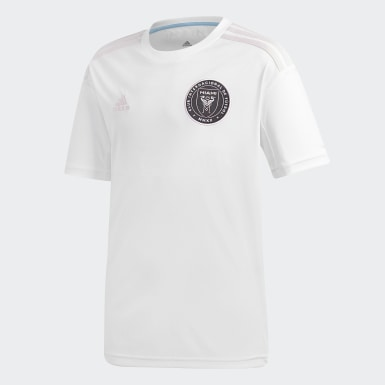 Kids Football White Inter Miami CF Home Jersey