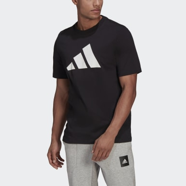 Men Athletics Black adidas Sportswear Logo Tee