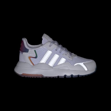 Children Originals White Nite Jogger Shoes