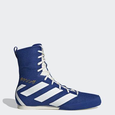 синий Кроссовки для бокса Hog 3