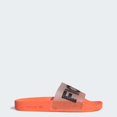 Originals Orange Fiorucci Adilette Slides