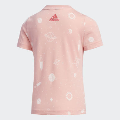 Camiseta Style Summer Rosa Kids Training