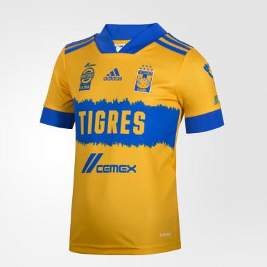 Mini Uniforme Local Tigres UANL 20/21 Amarillo Niño Fútbol