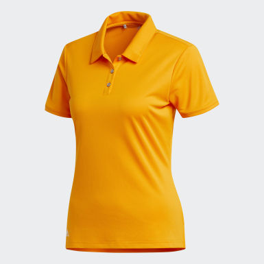 Polo Tournament orange Femmes Golf