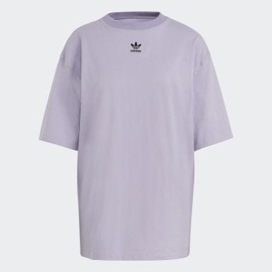 фиолетовый Футболка Adicolor Essentials