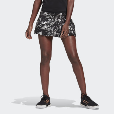 Women Tennis Black GLAM ON TENNIS MATCH SKIRT
