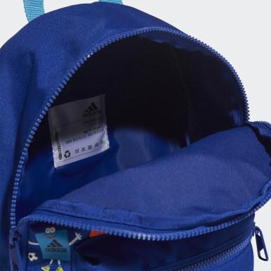 Morral Classic Estampada Cleofus (UNISEX) Azul Niño Training