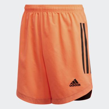 Chlapci Tréning oranžová Šortky Condivo 20