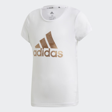 Youth 8-16 Years Training White Holiday T-Shirt