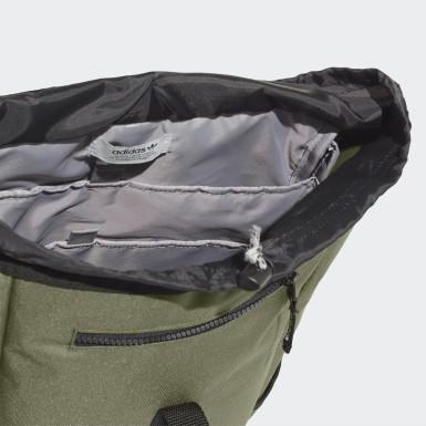Mochila Premium Essentials Top Loader (UNISEX) Verde Originals