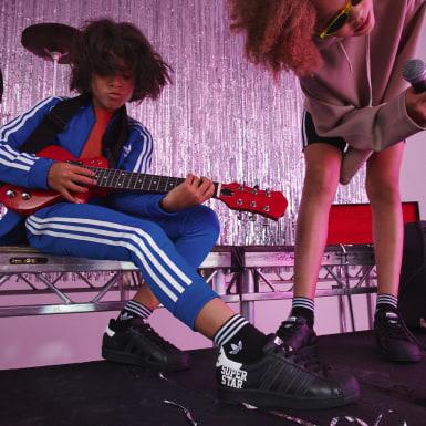 Kinder Originals Superstar Schuh Schwarz