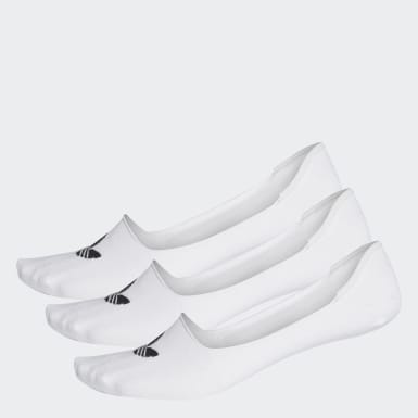 Calcetines invisibles-Pack de 3 Blanco Originals