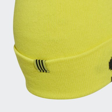 Originals Yellow Logo Beanie