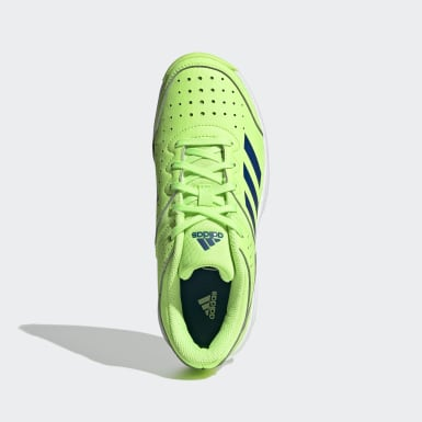 Kinder Squash Court Stabil Schuh Grün