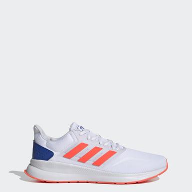 Men Running White Runfalcon Shoes