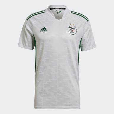 Maillot Domicile Algérie 20/21 Blanc Hommes Football