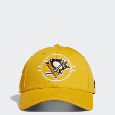 Men's Hockey Multicolor Penguins Structured Adjustable Hat