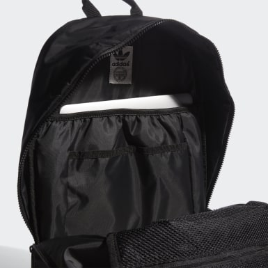 Originals Black National 3-Stripes Backpack