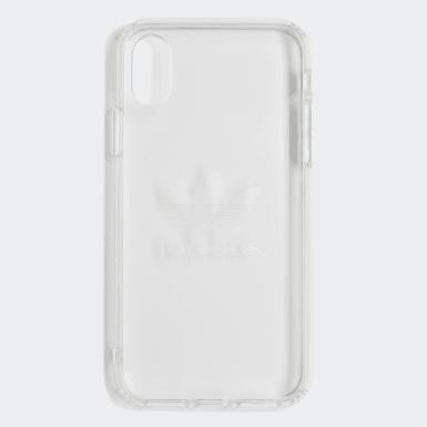 Coque Clear iPhone X blanc Originals