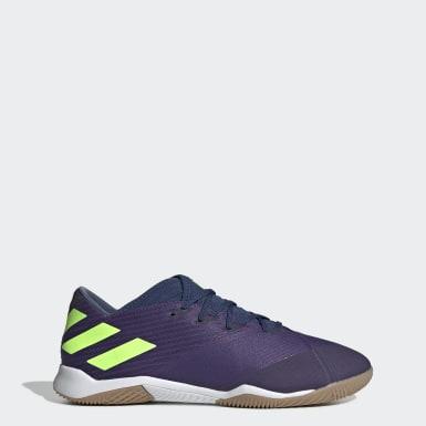 Zapatos de Fútbol Nemeziz Messi 19.3 Cancha Cubierta Azul Hombre Fútbol