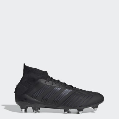 Football Black Predator 19.1 Soft Ground Boots