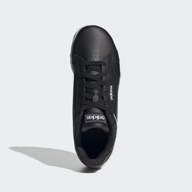 Kids Sport Inspired Black Roguera Shoes
