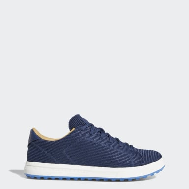 Men Golf Blue Adipure Shoes