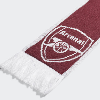 Soccer Burgundy Arsenal Scarf