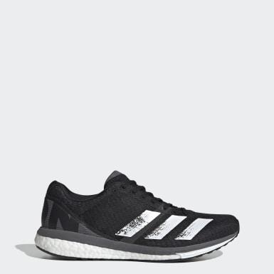 Heren Hardlopen Zwart Adizero Boston 8 Schoenen