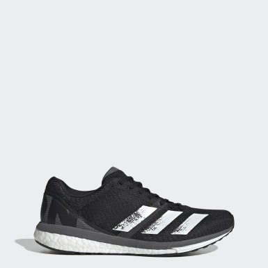 Men's Running Black Adizero Boston 8 Shoes