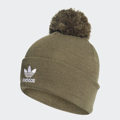 Originals Green Adicolor Bobble Beanie
