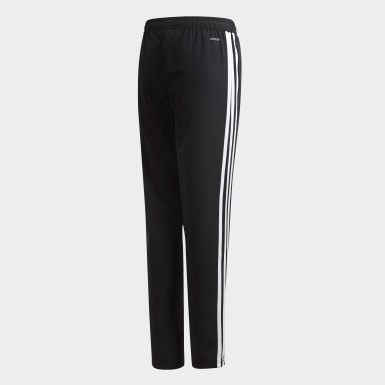 Kids Training Black Tiro 19 Woven Tracksuit Bottoms