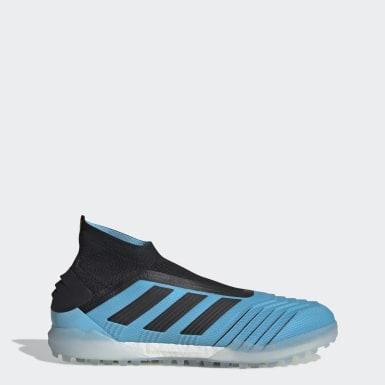 Zapatos de Fútbol Predator TAN 19+ Césped Artificial Turquesa Hombre Fútbol