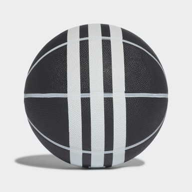 Balón de Básquet Rubber X 3 Rayas Negro Basketball