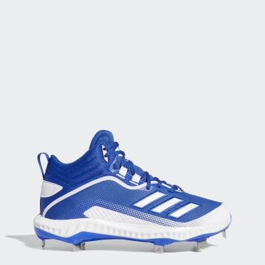 Men's Baseball Blue Icon 6 Bounce Mid Cleats