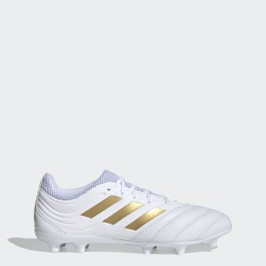 Football White Copa 19.3 Firm Ground Boots