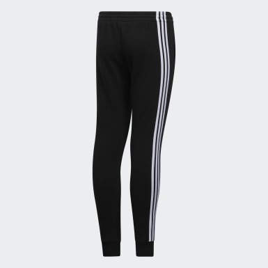 Youth Training Black Stripe Fleece Joggers