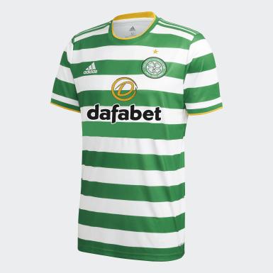 Heren Voetbal Wit Celtic FC 20/21 Thuisshirt