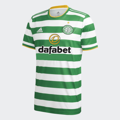 Maillot Domicile Celtic FC 20/21 Blanc Hommes Football