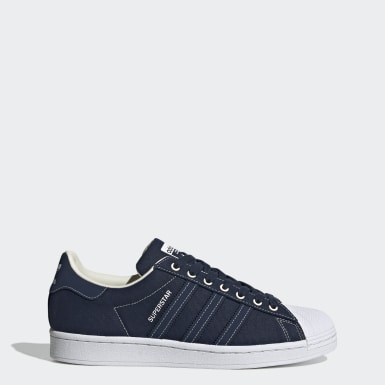 Men Originals Blue Superstar Shoes