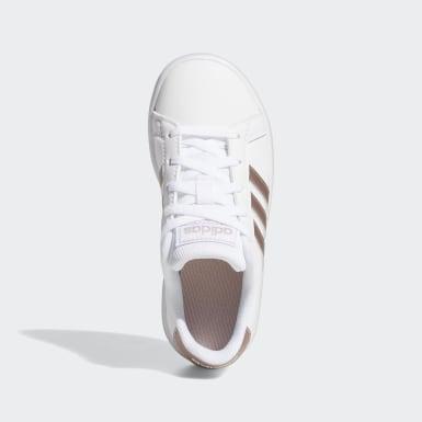 Børn Livsstil Hvid Grand Court sko