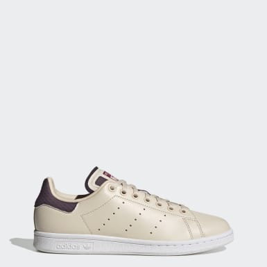Chaussure Stan Smith Beige Femmes Originals