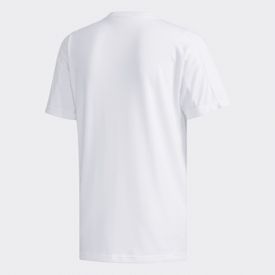 Men Athletics White ID Stadium Tee