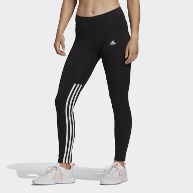 Women Sport Inspired Black adidas Essentials Cut 3-Stripes Leggings