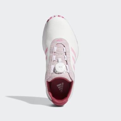 Women Golf White S2G BOA Golf Shoes