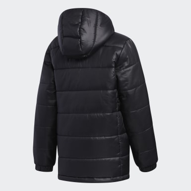 Kids Training Black Padded Jacket